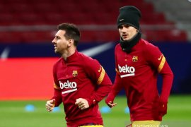 Griezmann buka suara soal hubungannya dengan Messi
