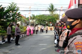 Jajar Kehormatan sambut Irjen Rikwanto sebagai Kapolda Kalsel