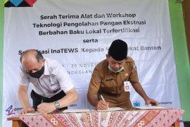 Inovasi teknologi BPPT serahkan alat teknologi pengolahan pangan lokal ke Pemkab Pandeglang