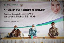 BPJS Kesehatan Sidoarjo gandeng anggota Komisi IX DPR RI sosialisasikan program JKN-KIS