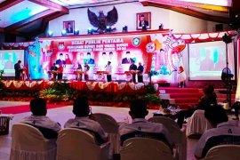 Debat perdana Pilkada Kotim tanpa perdebatan