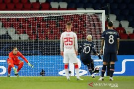 Liga Champions, penalti Neymar jadi pembeda PSG kontra Leipzig