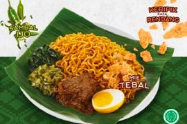 Kini nasi Padang hadir dalam kemasan mie instan