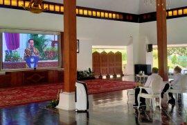 Secara virtual, Bupati Banyuwangi hadiri penyerahan DIPA dan TKDD oleh Presiden Jokowi