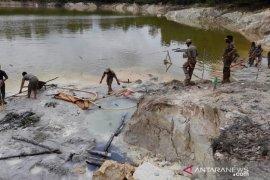 Satpol PP Babel tertibkan tambang ilegal di Kolong Spritus