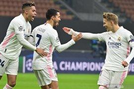 Liga Champions: Real Madrid raih kemenangan 2-0 di markas Inter Milan