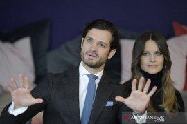 Pangeran Swedia Carl Philip beserta istri positif Corona