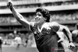 """Pemilik jersey """"Gol Tangan Tuhan"""" Maradona sibuk tolak tawaran"""