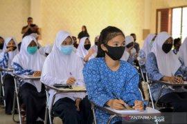 ANTARA latih pelajar SMP di Aceh Barat kenali hoaks dan ilmu jurnalistik