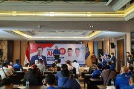 AHY semangati kader Demokrat menangkan Machfud-Mujiaman di Pilkada Surabaya