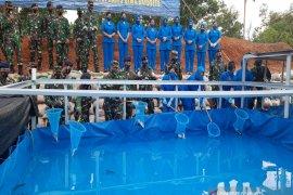 Danlantamal XIII apresiasi Lanal Banjarmasin wujudkan ketahanan pangan