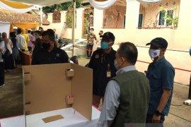 KPU Sukabumi sediakan bilik suara khusus bagi pemilih bersuhu tubuh tinggi