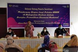 UMKM Kabupaten Asahan di bantu melakukan peluang ekspor produk