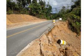 Dinas PU Kapuas Hulu minta Balai PJN tangani longsor di jalan nasional