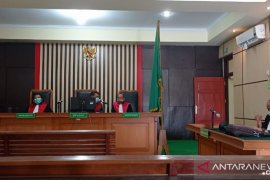 Mantan Plt Kadis PUPR Provinsi Jambi dituntut 4 tahun penjara