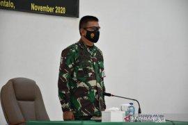 Korem 133/NW Gorontalo jalin kerja sama dengan berbagai komunitas