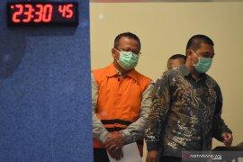 Setelah ditetapkan tersangka, KPK resmi tahan Menteri Edhy Prabowo