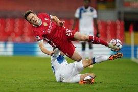 Penyerang Liverpool Diogo Jota kembali berlatih setelah cedera lutut