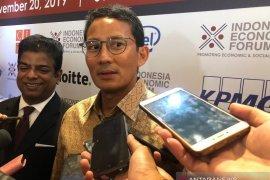 Sandiaga Uno perkirakan perekonomian Indonesia tahun 2021 akan bergerak positif