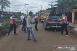 Kisruh asset, PT.KAI-Pemkot Tanjungbalai ukur lapangan