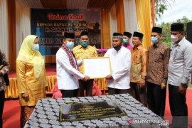 Pemkab Solok resmikan Masjid Syari\'atul Ikhlas Lansanak Jorong Aia Angek