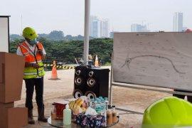 pembangunan tol Serbaraja seksi 1A ditarget selesai akhir tahun 2021