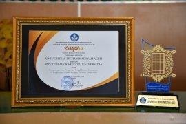 Unmuha raih predikat kampus swasta terbaik di Aceh dari Kemendikbud