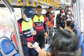 "Pemkot Medan bagikan ""Sumut Card"" kepada pengguna Bus Trans Metro Deli"