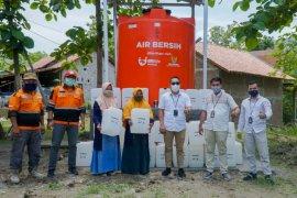 BRILife-Baznas salurkan penampungan air bersih di Gunung Kidul