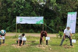 Semarakkan HUT Ke-60, Jasa Raharja Banten Tanam 300 bibit pohon