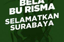 "Tagar #BelaBuRisma jadi ""trending topic"" di media sosial"