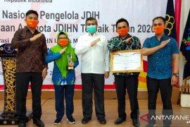 Pemkab Kubu Raya terima penghargaan JDIH 2020