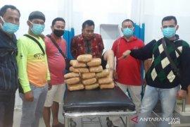 Polisi sita 14,2 kg ganja dari pasutri