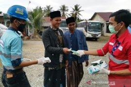Mifa Bersaudara edukasi protokol kesehatan untuk jamaah shalat Jumat