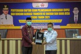 Gubernur Aceh serahkan DIPA TKDD Rp48,9 triliun