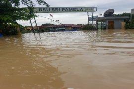 Tebing Tinggi dilanda banjir kiriman, Sei Padang meluap
