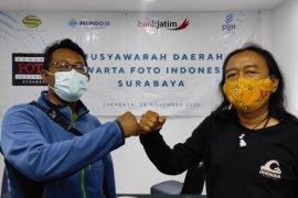 Pewarta Foto Radar Surabaya terpilih jadi Ketua Umum PFI Surabaya