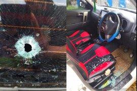 Mobil ditembak di Manokwari, tak ada korban jiwa