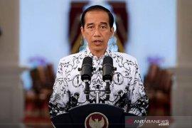 Presiden Jokowi apresiasi dan sampaikan terima kasih kepada guru