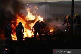 Formula 1: FIA mulai investigasi kecelakaan Grosjean di GP Bahrain