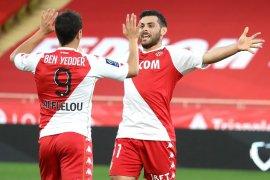 Liga Prancis: Monaco merangsek ke posisi tiga usai kandaskan Nime 3-0