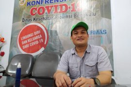 Update Minggu, kasus positif COVID-19 di Bengkulu bertambah 71 orang