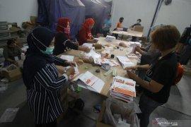 7.790 lembar surat suara pengganti untuk pilkada tiba di Makassar