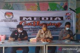 KPU Sitaro Adakan Media Gathering Simulasi Pemungutan dan  Penghitungan Suara