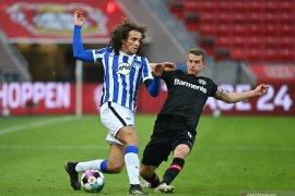 Imbang lawan Hertha Leverkusen perpanjang rekor tak terkalahkan