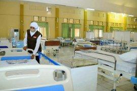 Antisipasi lonjakan pasien COVID-19, rumah sakit lapangan disiapkan di Kota Malang