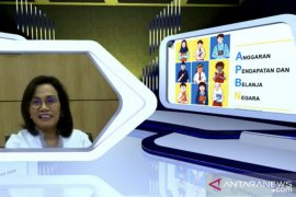 Siswa SD Pekanbaru belajar bersama Sri Mulyani Indrawati secara virtual