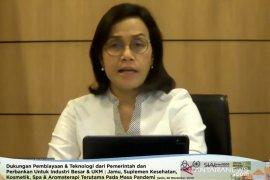 Sri Mulyani tegaskan Indonesia harus terus hati-hati tangani pandemi
