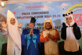 Grup band Wali rilis lagu untuk anak-anak