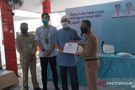 PT Timah salurkan 12 unit mesin tempel kapal nelayan